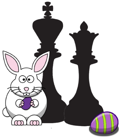 FREE Chess Easter Clipart (Personal and Commercial Use)